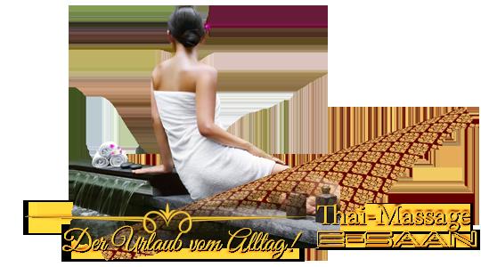 """Abbildung (Bild) der traditionelle Thai-Massagebehandlung zu dem Gutschein für »E-Saan, der Urlaub vom Alltag!« bei E-Saan Thai-Massage """"Wellness & Spa mit traditionelle Thaimassagebehandlungen in Davidstraße 20b in 73033 Göppingen"""