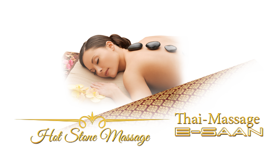 "Abbildung (Bild) der traditionelle Thai-Massagebehandlung zu dem Gutschein für »E-Saan Wellness Hot Stone Massage« bei E-Saan Thai-Massage ""Wellness & Spa mit traditionelle Thaimassagebehandlungen in Davidstraße 20b in 73033 Göppingen"
