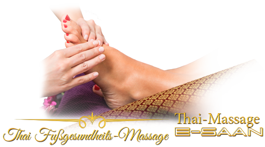 "Abbildung (Bild) der traditionelle Thai-Massagebehandlung zu dem Gutschein für »E-Saan Thai Fußgesundheits-Massage« bei E-Saan Thai-Massage ""Wellness & Spa mit traditionelle Thaimassagebehandlungen in Davidstraße 20b in 73033 Göppingen"