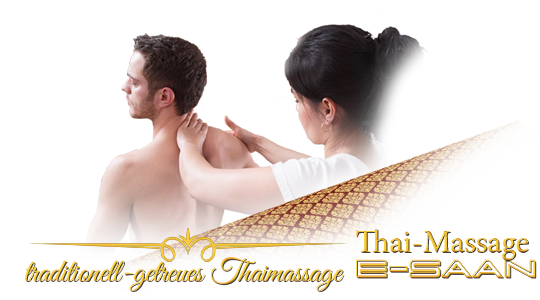 "Abbildung (Bild) der traditionelle Thai-Massagebehandlung zu dem Gutschein für »Älteste Thai traditionelle Massage« bei E-Saan Thai-Massage ""Wellness & Spa mit traditionelle Thaimassagebehandlungen in Davidstraße 20b in 73033 Göppingen"
