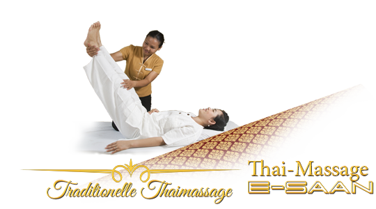 "Abbildung (Bild) der traditionelle Thai-Massagebehandlung zu dem Gutschein für »traditionelle Thai-Massage« bei E-Saan Thai-Massage ""Wellness & Spa mit traditionelle Thaimassagebehandlungen in Davidstraße 20b in 73033 Göppingen"